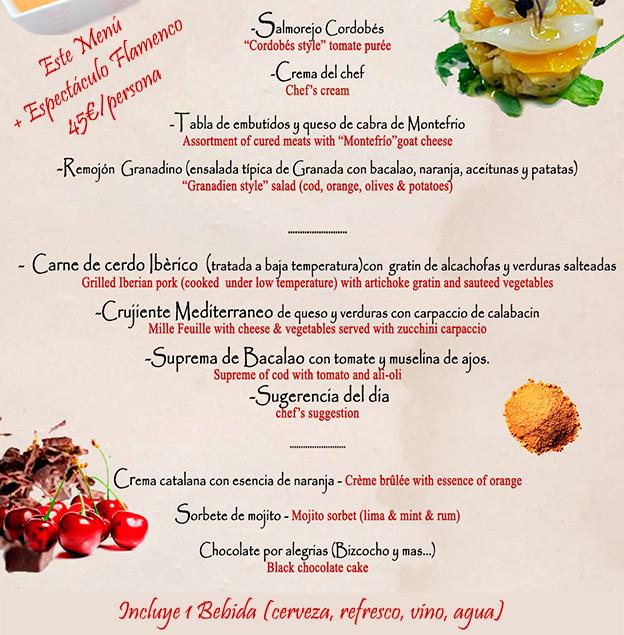 Cenas de navidad en granada restaurante flamenco jardines de zoraya - Los jardines de zoraya ...